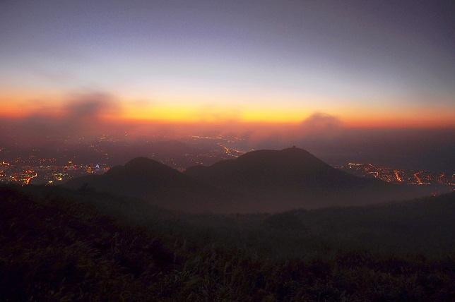 霧と夕暮れ(4)