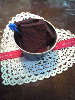 石畳チョコ