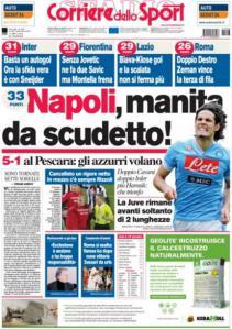 Corriere dello Sport 3-12-2012