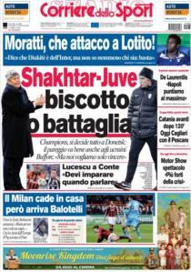 Corriere dello Sport 5-12-2012