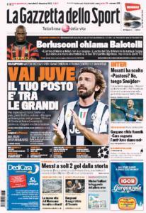 Gazzetta 5-12-2012