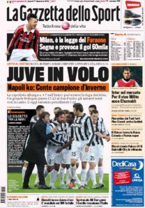 Gazzetta 17-12-2012