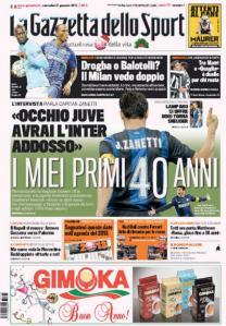 Gazzetta 2-1-2013