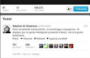 El Shaarawy Twitter