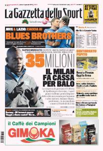 Gazzetta 05-01-2013