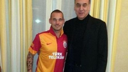 Sneijder a Galatasaray 2