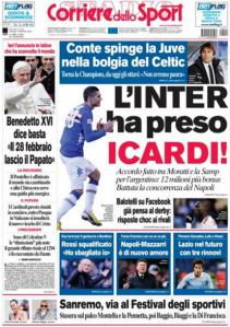 Corriere 12-2-2013