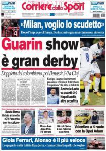 Corriere 22-2-2013
