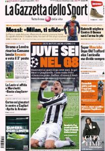 Gazzetta 7-3-2013