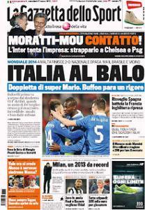Gazzetta 27-3-2013