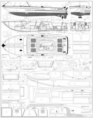 wooden powerboat plans