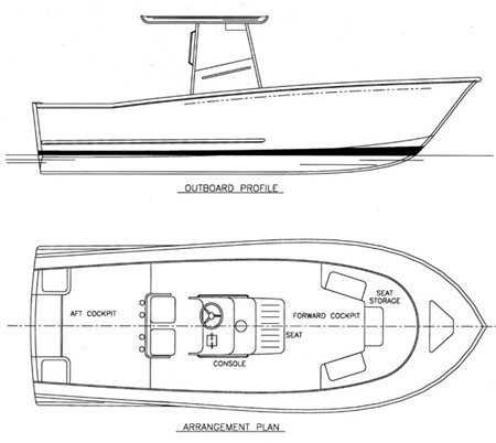 wooden cabin cruiser boat plans