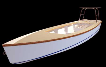 Plywood Fishing Boat Plans