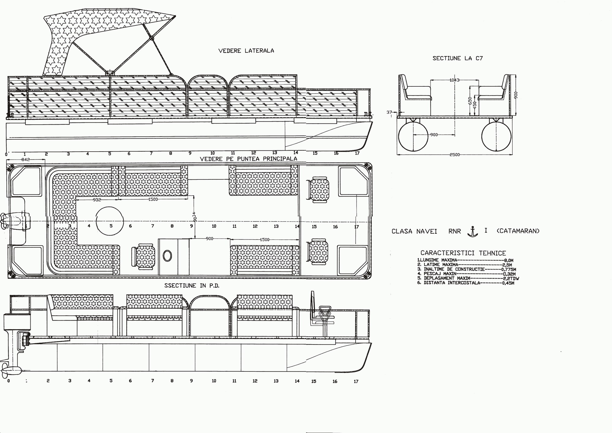 Puruhu boat for Godfrey design build