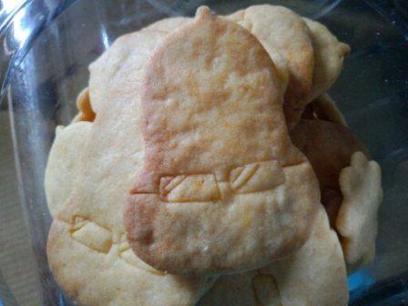 メガネナッツのクッキー