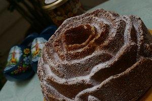 ばらのケーキ