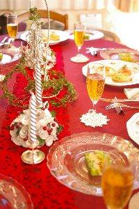 テーブルクリスマス