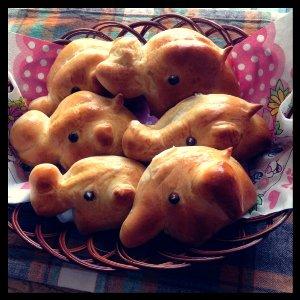 ぞうのパン2