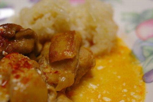 と鶏肉のパプリカ煮2