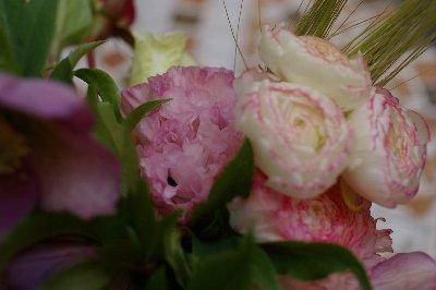 テーブルのお花2