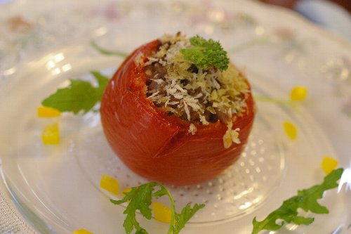 トマトのファルシ