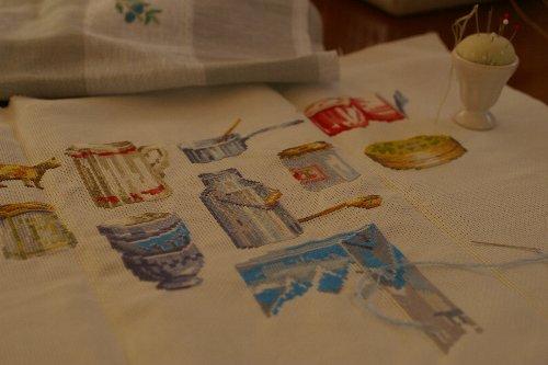 乳製品刺繍