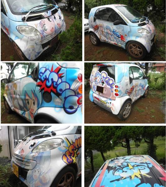 ヤフオクにメルセデス・ベンツの痛車が出品される!値段は現時点でたったの25万円!