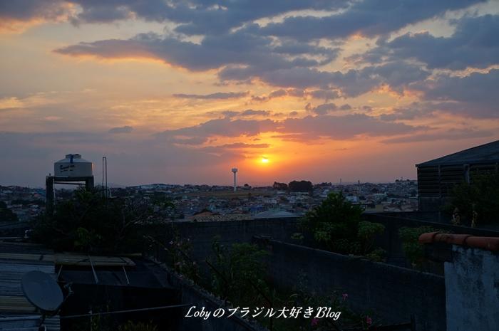 0夕日の見える家