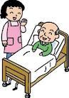 老人介護 の絵 CAQENCRW