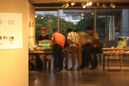 デザインカフェ2_スクリーン印刷体験01
