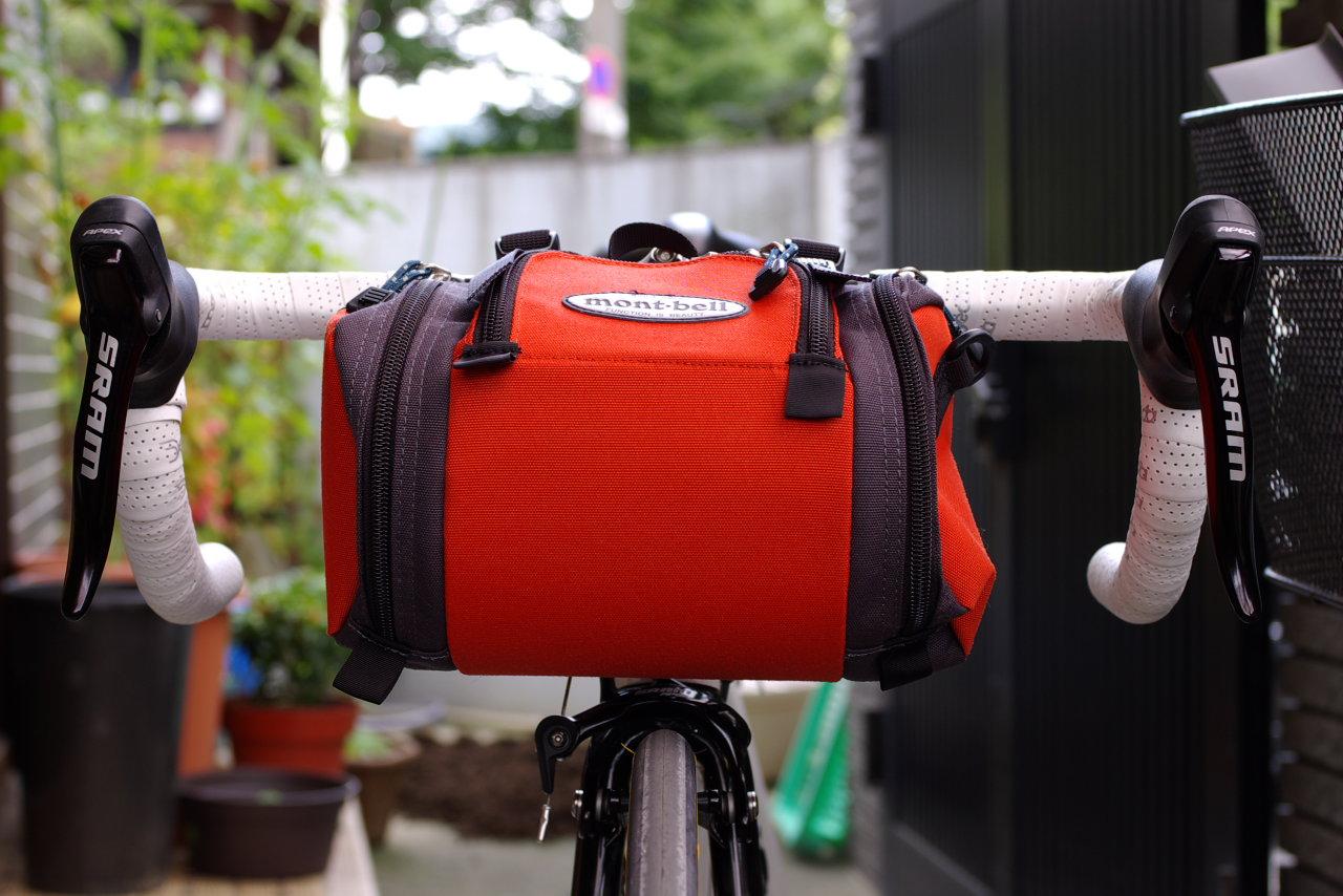 自転車の 自転車 フロント カメラバッグ : どうでもいい写真をアップして ...