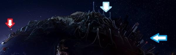 ファンタジー惑星:モロトフスフィア(火炎瓶星)下半球60