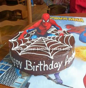 How to make the ultimate spiderman cake ipolehogef
