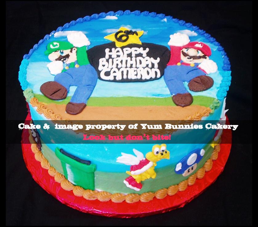 Mario Brothers Cake Ideas For Kids 8253 Super Mario Bros C