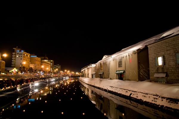 小樽冬運河