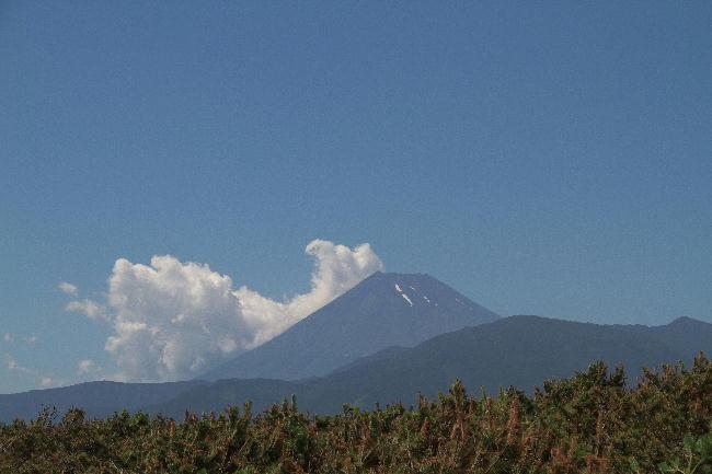 千本浜の富士山-1