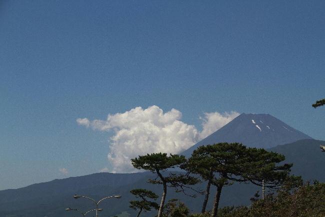 千本浜の富士山-2