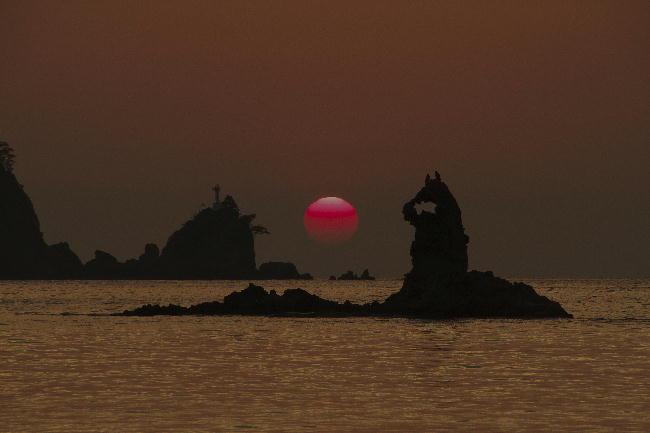 9.13-17.50-田子の夕陽-4