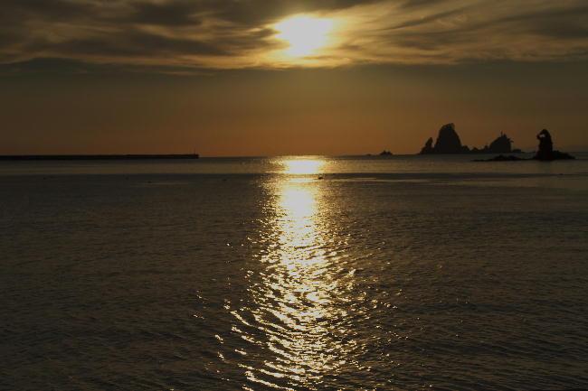 17.06-田子の夕陽-3