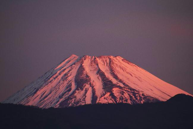 今朝の富士山28