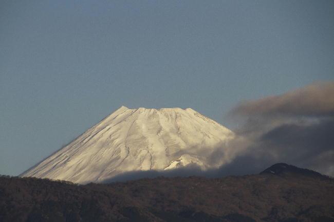 今朝の富士山 1 29