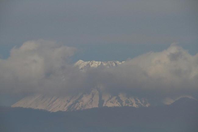 9日今朝の富士山