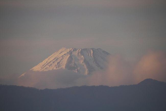 富士山の夕景