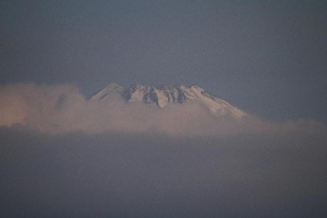 12日今朝の富士山1