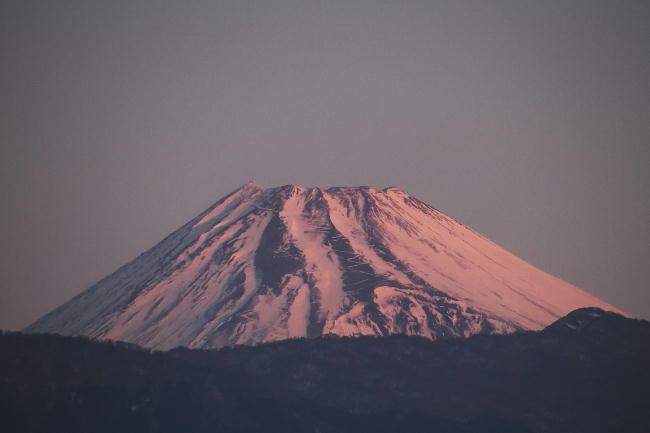 20日 6-50 今朝の富士山