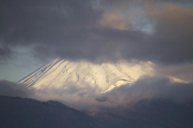 24 日 7-25 今朝の富士山