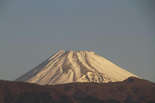 27日 7-08 今朝の富士山