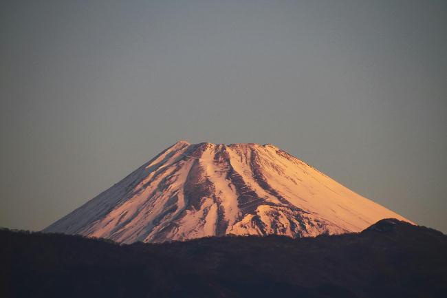 29日 6-51 今朝の富士山