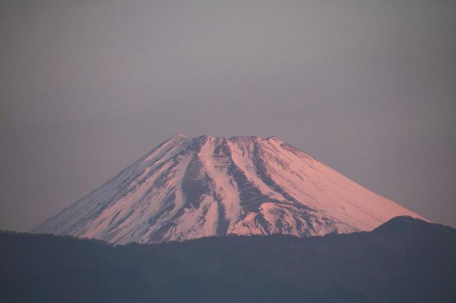 31日 6-45 今朝の富士山