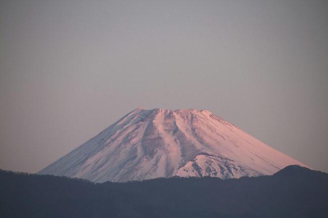 3日 6-41 今朝の富士山
